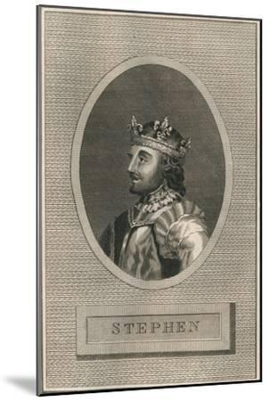 King Stephen, 1793-Unknown-Mounted Giclee Print