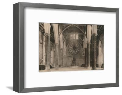 Great Hall of Winchester Castle, Hampshire, early 20th century(?)-Unknown-Framed Photographic Print
