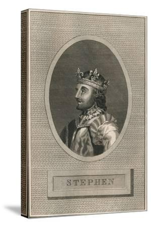 King Stephen, 1793-Unknown-Stretched Canvas Print