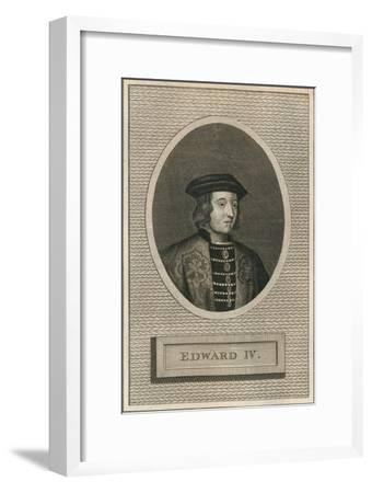 King Edward IV, 1793-Unknown-Framed Giclee Print