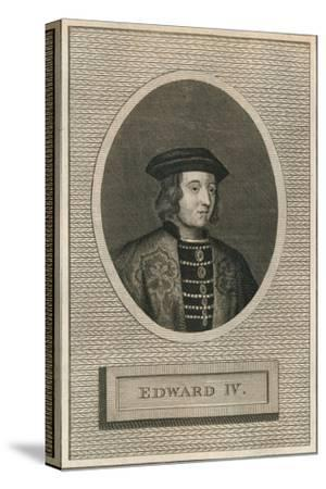 King Edward IV, 1793-Unknown-Stretched Canvas Print