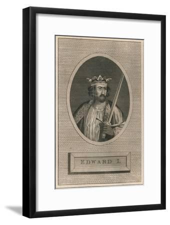 King Edward I, 1793-Unknown-Framed Giclee Print