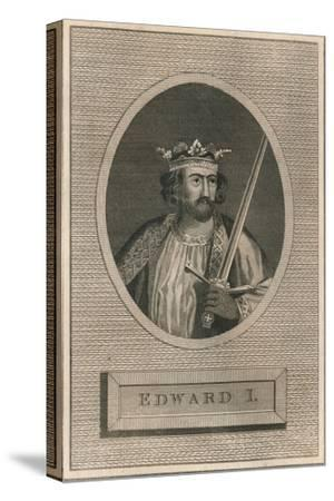 King Edward I, 1793-Unknown-Stretched Canvas Print
