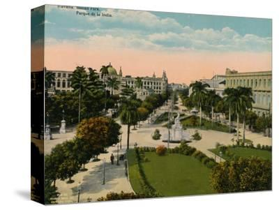 Parque de la India, Havana, Cuba, c1920-Unknown-Stretched Canvas Print