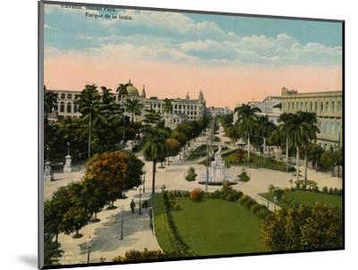 Parque de la India, Havana, Cuba, c1920-Unknown-Mounted Photographic Print