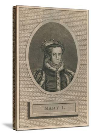 Queen Mary I, 1793-Unknown-Stretched Canvas Print
