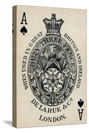 Ace of Spades, 1925-Unknown-Stretched Canvas Print