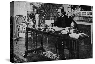 'M. Rostand in his Library', c1902, (1903)-Unknown-Stretched Canvas Print