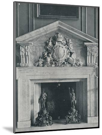 Carved Marble Chimneypiece by William Kent (1685-1748)-Unknown-Mounted Photographic Print
