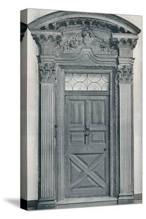 'Carved Wood Doorway, Early Eighteenth Century', 1909-Unknown-Stretched Canvas Print