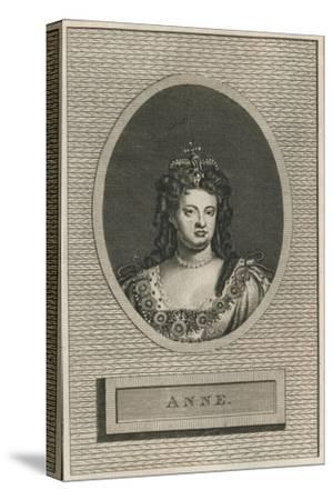 Queen Anne, 1793-Unknown-Stretched Canvas Print