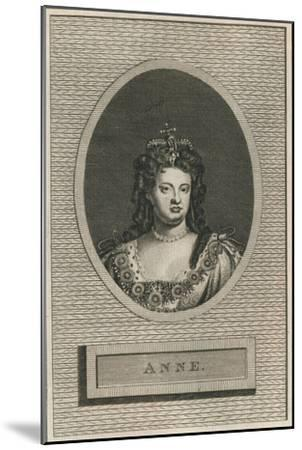 Queen Anne, 1793-Unknown-Mounted Giclee Print
