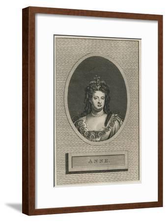 Queen Anne, 1793-Unknown-Framed Giclee Print