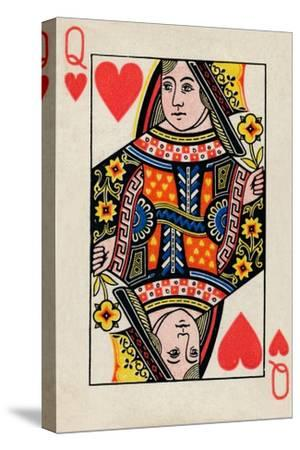 Queen of Hearts, 1925-Unknown-Stretched Canvas Print