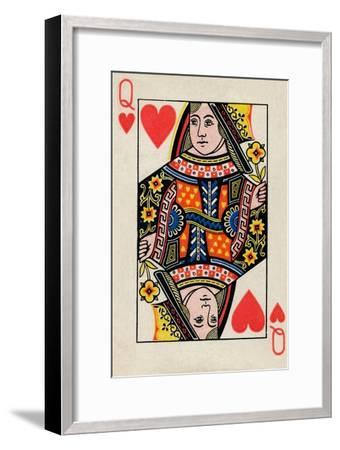 Queen of Hearts, 1925-Unknown-Framed Giclee Print