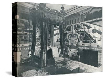 'Green Velvet Room, Stoke Edith', c1909-Unknown-Stretched Canvas Print