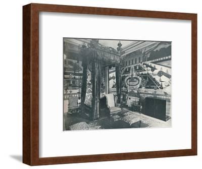 'Green Velvet Room, Stoke Edith', c1909-Unknown-Framed Photographic Print