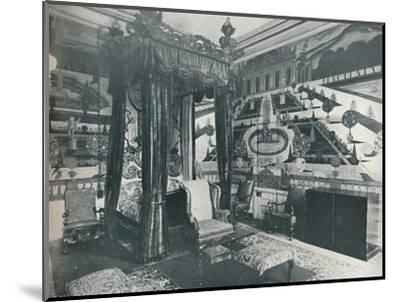 'Green Velvet Room, Stoke Edith', c1909-Unknown-Mounted Photographic Print