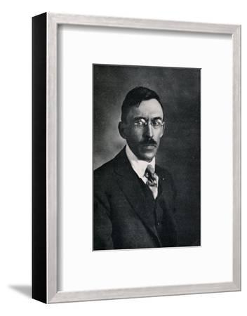 'Robert Spencer', c1923, (1923)-Unknown-Framed Photographic Print