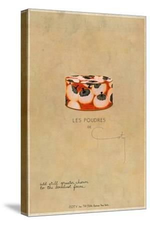 'Les Poudres de Coty', c1923, (1923)-Unknown-Stretched Canvas Print