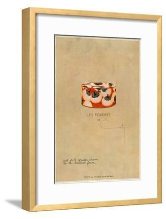 'Les Poudres de Coty', c1923, (1923)-Unknown-Framed Giclee Print