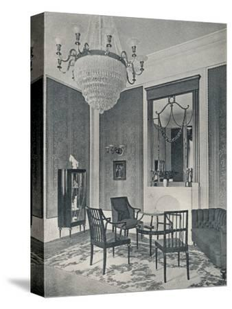 'Drawing-Room', c1911-Unknown-Stretched Canvas Print