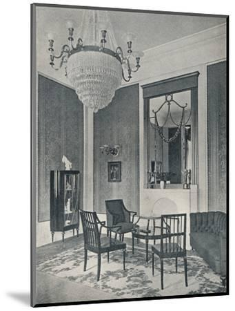 'Drawing-Room', c1911-Unknown-Mounted Photographic Print