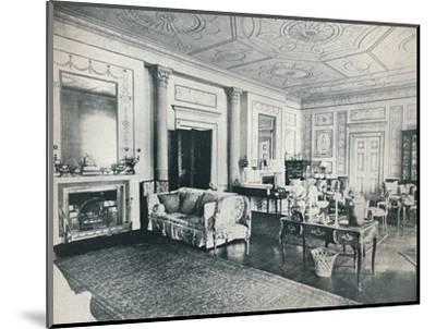 'The Adam Salon, Stoke Edith', c1909-Unknown-Mounted Photographic Print