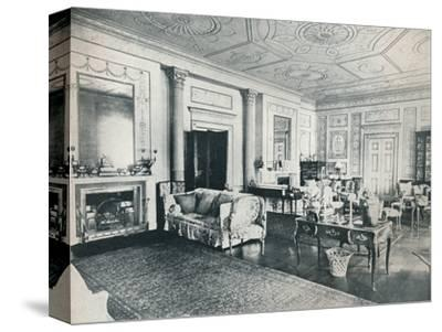 'The Adam Salon, Stoke Edith', c1909-Unknown-Stretched Canvas Print