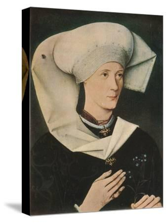 'Portrait of a Woman of the Hofer Family', 1470, (1909)-Unknown-Stretched Canvas Print