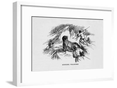 'Hunting Walruses', c1927, (1928)-Unknown-Framed Giclee Print