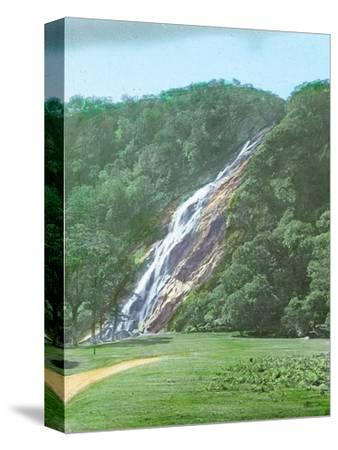 'Powerscourt Waterfall, Co. Wicklow', c1910-Unknown-Stretched Canvas Print