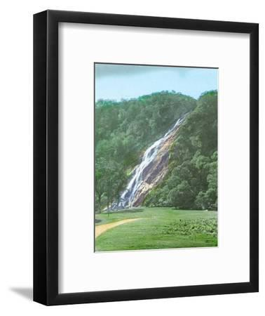 'Powerscourt Waterfall, Co. Wicklow', c1910-Unknown-Framed Photographic Print