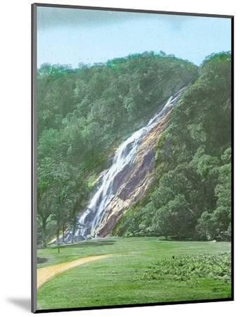 'Powerscourt Waterfall, Co. Wicklow', c1910-Unknown-Mounted Photographic Print
