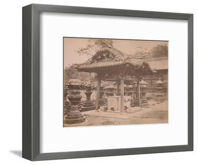 'Cistern, Iyenobu, c1890-1900-Unknown-Framed Photographic Print
