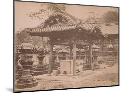 'Cistern, Iyenobu, c1890-1900-Unknown-Mounted Photographic Print