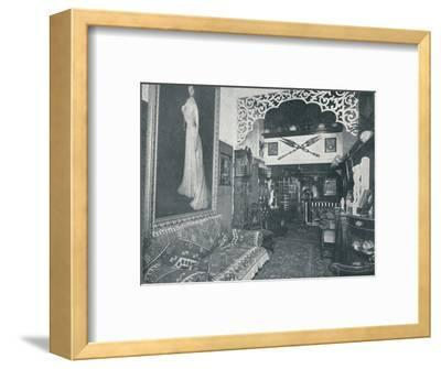 'One of the Reception Rooms at the Sandow Institute',c1898-Unknown-Framed Photographic Print