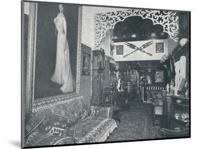 'One of the Reception Rooms at the Sandow Institute',c1898-Unknown-Mounted Photographic Print