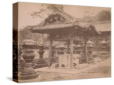 'Cistern, Iyenobu, c1890-1900-Unknown-Stretched Canvas Print
