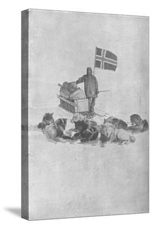 'At the South Pole', 1911, (1928)-Unknown-Stretched Canvas Print