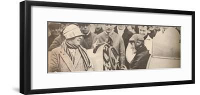 'Showing the driving mechanism to interested spectators', c1927, (1935)-Unknown-Framed Photographic Print