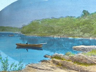 'The Middle Lake, from Dinis Island, Killarney', c1910-Unknown-Framed Photographic Print