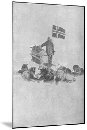 'At the South Pole', 1911, (1928)-Unknown-Mounted Giclee Print