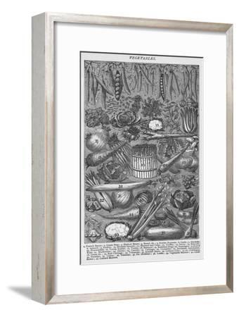 'Vegetables', 1907, (1907)-Unknown-Framed Giclee Print