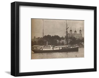 The Quest, in which Sir Ernest Shackleton set sail in September 1921-Unknown-Framed Photographic Print