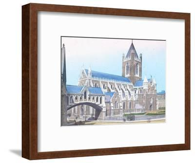 'Christ Church Cathedral', c1910-Unknown-Framed Photographic Print