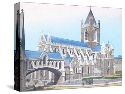 'Christ Church Cathedral', c1910-Unknown-Stretched Canvas Print