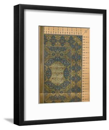 'The First Half of the First Sura of the Koran', c1902, (1903)-Unknown-Framed Giclee Print