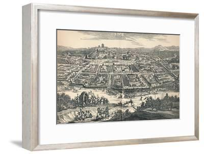 'Banza Lovangri, The Capital of the Former Kingdom of Lovango', c1670, (1903)-Unknown-Framed Giclee Print