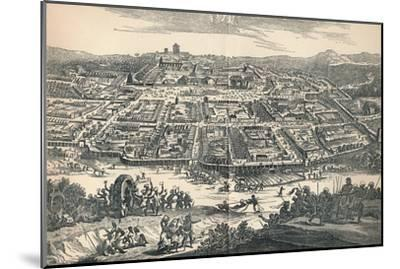 'Banza Lovangri, The Capital of the Former Kingdom of Lovango', c1670, (1903)-Unknown-Mounted Giclee Print